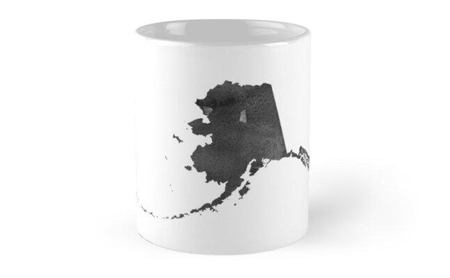 Printable Art Alaska Map Alaska Print Alaska Map Alaska Art Alaska ...