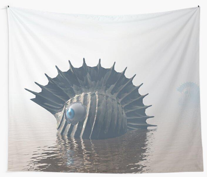 Sea Monsters by Phil Perkins