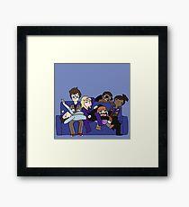 Team Tenth Doctor! Framed Print