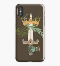 Ace of Swords iPhone Case