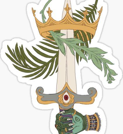 Ace of Swords Sticker