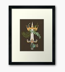 Ace of Swords Framed Print