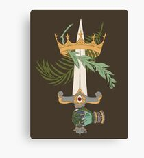 Ace of Swords Canvas Print