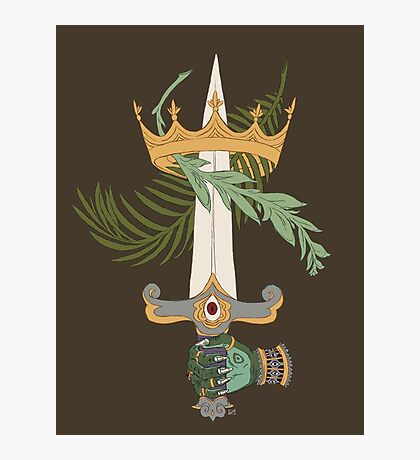 Ace of Swords Photographic Print