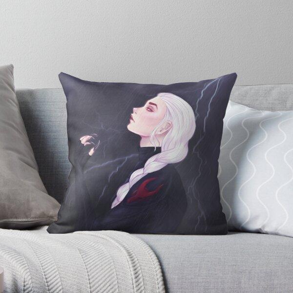 Manon Blackbeak  Throw Pillow