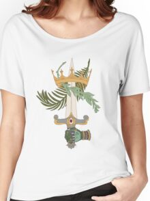 Ace of Swords T-shirt femme coupe relax
