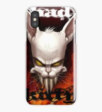 Evil The Cat - Bad Kitty iPhone Case