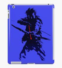blue arrow iPad Case/Skin