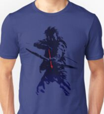 blue arrow Unisex T-Shirt