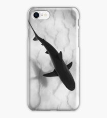 Shark in silhouette iPhone Case/Skin