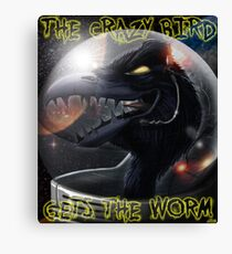 Psy-Crow Canvas Print