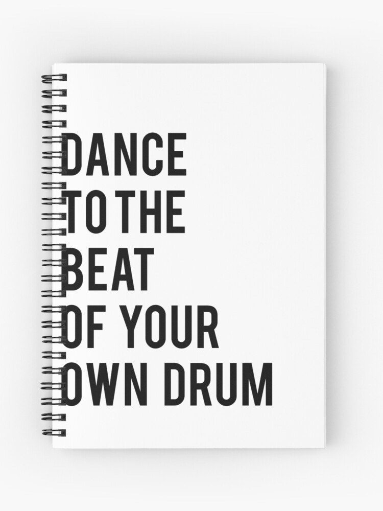 photograph regarding Quotes Printable identified as Dance toward the combat of your private drum printable quotations dance print black and white print printable artwork small children print inpsirational quotation Spiral Laptop computer