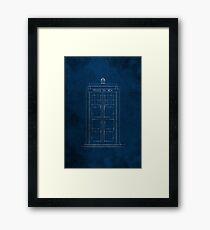 Doctor Who, Tardis (Colour) Framed Print