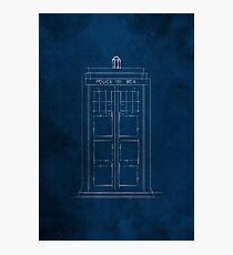 Doctor Who, Tardis (Colour) Photographic Print