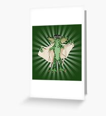 Flasher2 Greeting Card