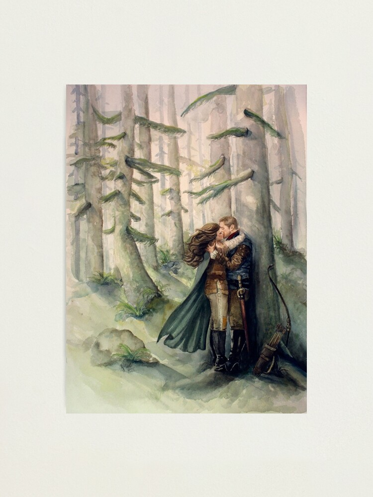 Alternate view of Snow and Charming Photographic Print