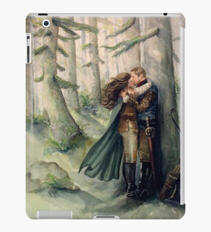 Snow and Charming iPad Case/Skin