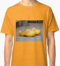 Big clogs, Dutch windmill village, Holland Classic T-Shirt