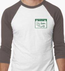 Dr. Green Thumb Men's Baseball ¾ T-Shirt