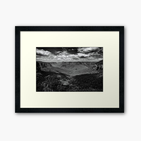 Blue Mountains, Australia Framed Art Print