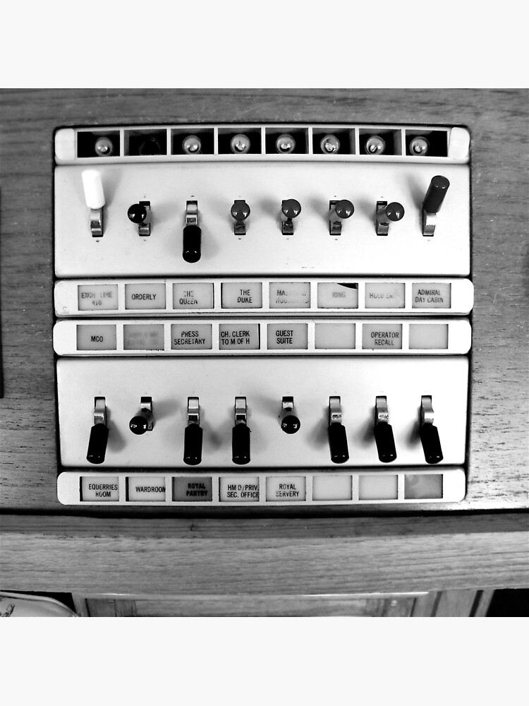 Telephone Switchboard, Royal Yacht Britannia by robsteadman