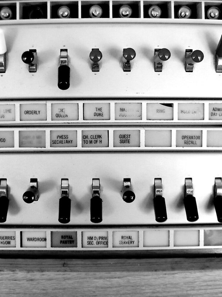 Telephone Switchboard, Royal Yacht Britannia by robsteadman