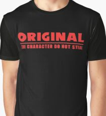 Original The Character - Red Graphic T-Shirt