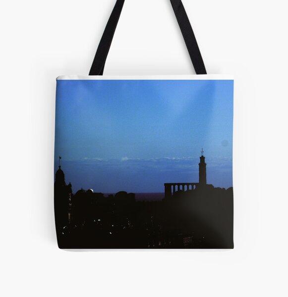 Calton Hill, Edinburgh All Over Print Tote Bag
