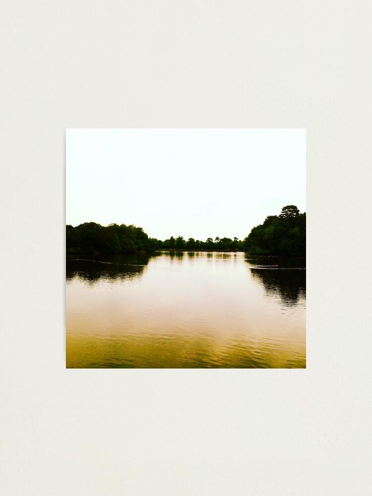 Alternate view of Lake Photographic Print