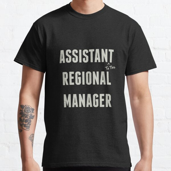 Assistent des Regionalmanagers Classic T-Shirt