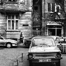 Quiet Streetscape In Sofia From Last Century by Stefan Kutsarov