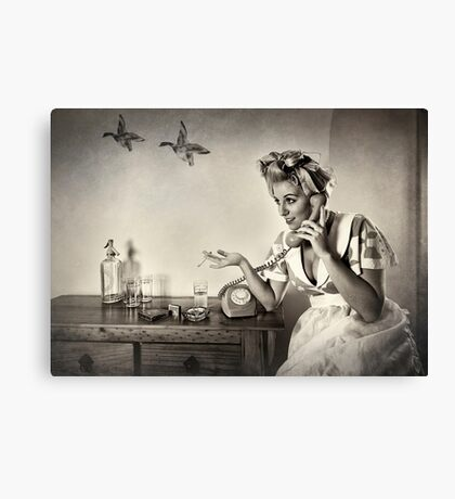 You don't say....  Mono version Canvas Print