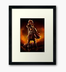 Berserker colour Framed Print
