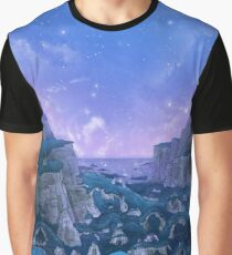 Stone Circle Evening Valley Sky Graphic T-Shirt