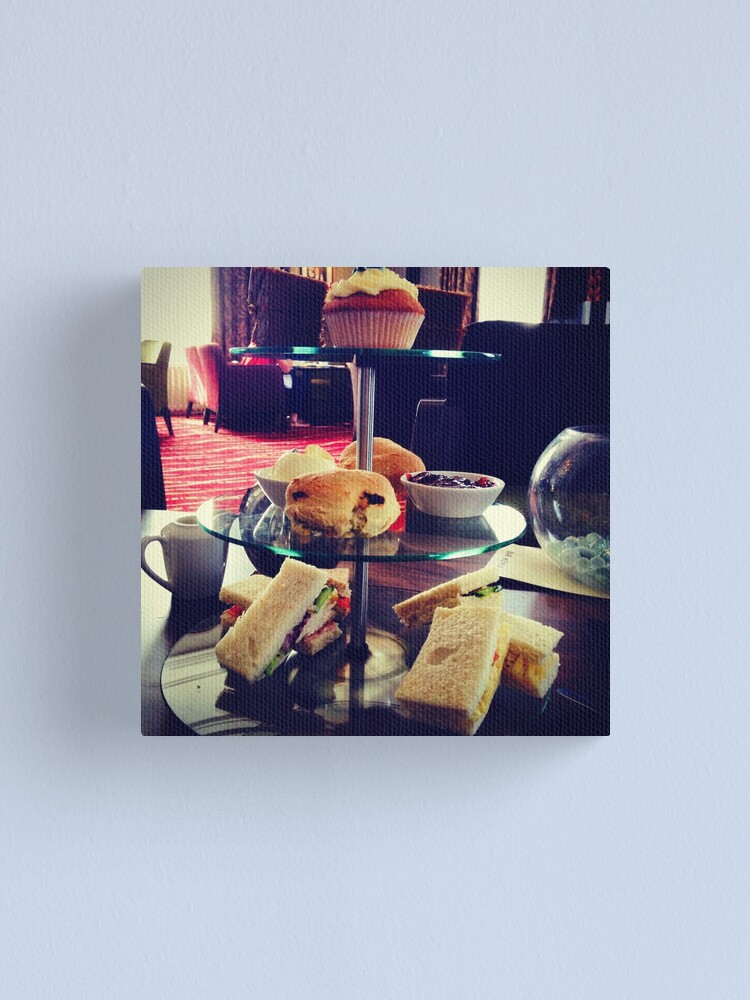 Alternate view of Afternoon Tea Canvas Print