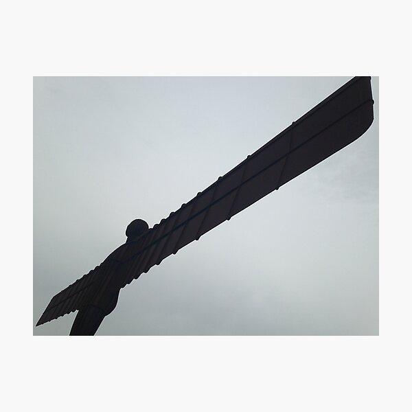 Angel of the North 1 Photographic Print