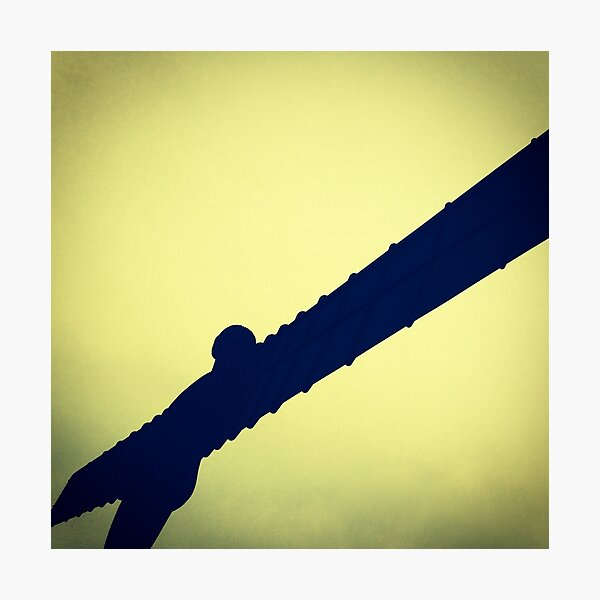 Angel of the North 3 Photographic Print