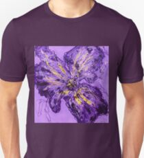 Pretty purple flower Unisex T-Shirt