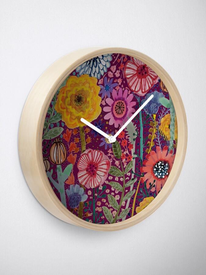 Alternate view of reparation du jardinier Clock