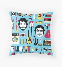 Flight of the Conchords Throw Pillow