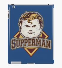 TOO MUCH SUPPERS iPad Case/Skin