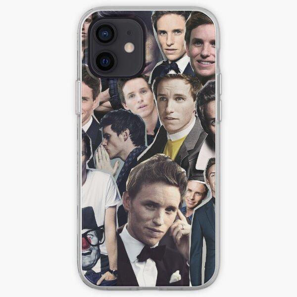 eddie redmayne collage iPhone Soft Case