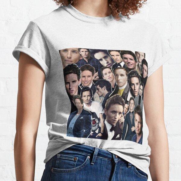 eddie redmayne collage Classic T-Shirt