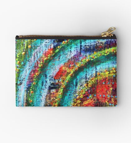Sacred Heart Bridge - an activated Inner Power Painting Studio Pouch