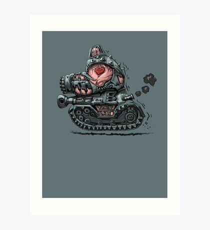 Tank Man Art Print