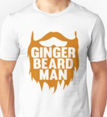 Beard Ginger Beard Man T-Shirt Gift For Beard Man Unisex T-Shirt