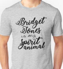 bridget jones is my spirit animal unisex t shirt
