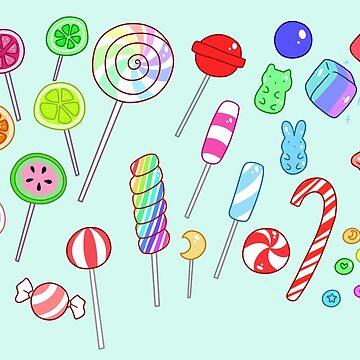 Caramelo colorido de SaradaBoru