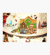 Gingerbread House Study 5  Photographic Print