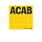 ACAB - ADAC (all cars are bad) logo von e-gruppe